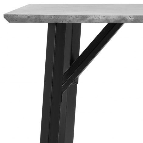 Warwick Dining Set Concrete & Light Grey Frame Image