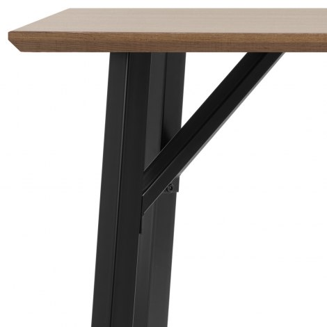 Warwick Dining Set Oak & Charcoal Seat Image