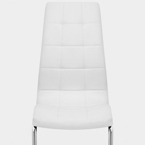 York Dining Chair White Seat Image