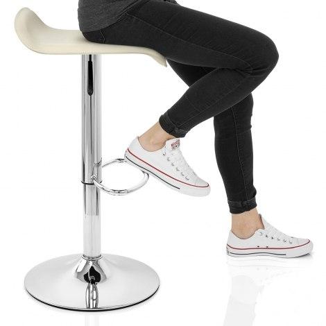 Zars Bar Stool Cream Seat Image