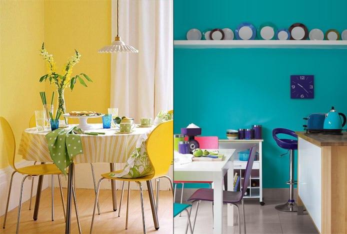 Analogous Kitchen Colours