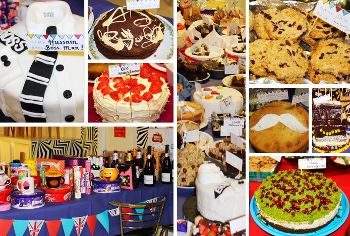 Cakes Baked For Charity Fundraising