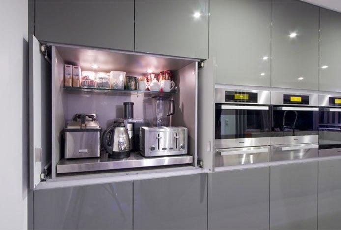 Appliance Garage In Modern Kitchen