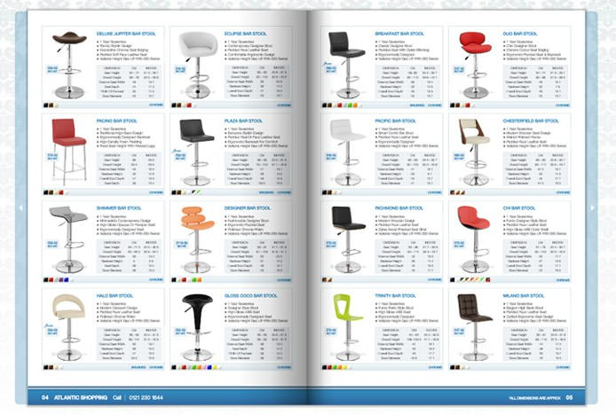 Atlantic Shopping Bar Stool Brochure