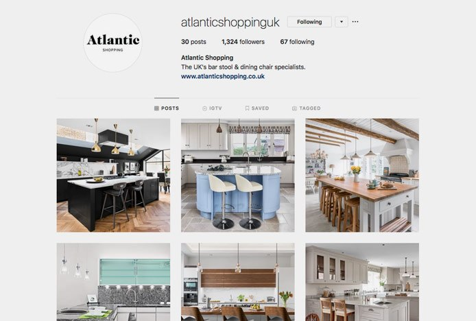 Atlantic Shopping Instagram