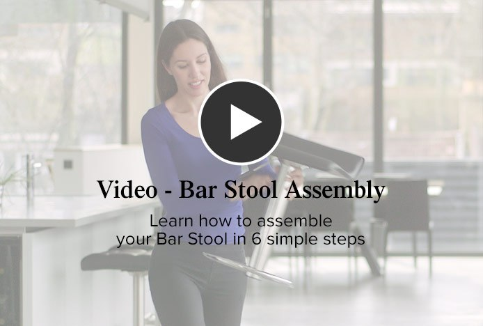 Bar Stool Assembly Video
