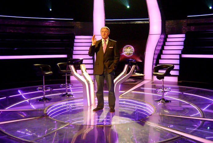 Bar Stools on TV Sets- Who Wants To Be a Millionaire