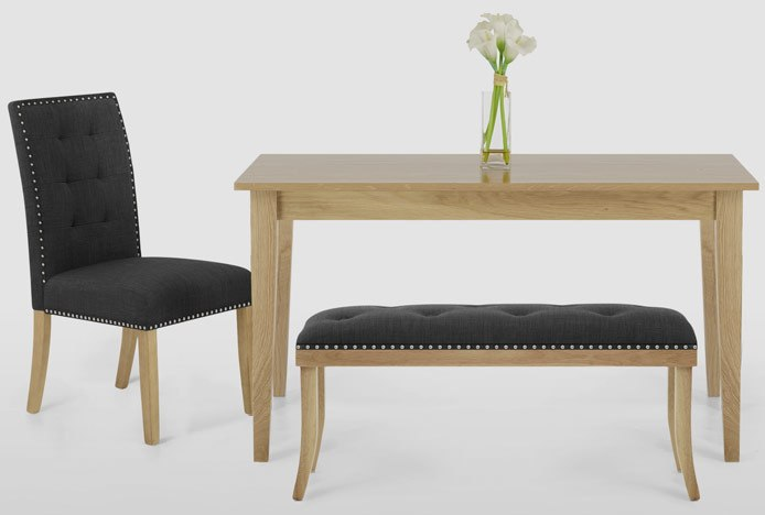 Bench Seating At Dining Table