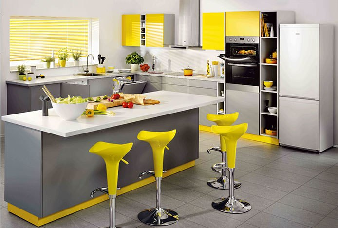 Funky Energised Kitchen