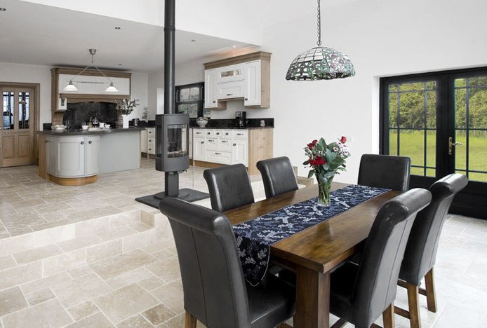 Carlo Oak Chairs in Kitchen
