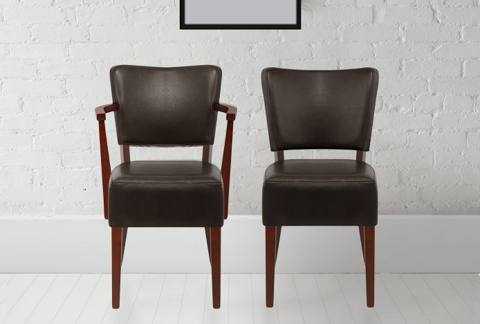 Ramsay Dining Chair With And Without Arms