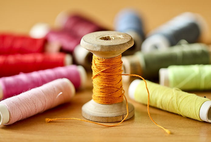Coloured Threads for Hobby Crafts