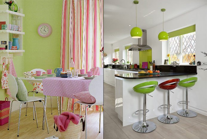 Complementary Colours In The Kitchen