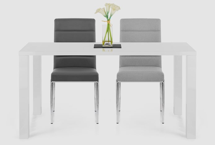 Same Design Dining Chairs With Different Upholstery