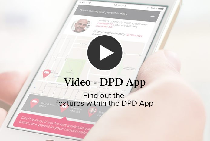 DPD Delivery App Video