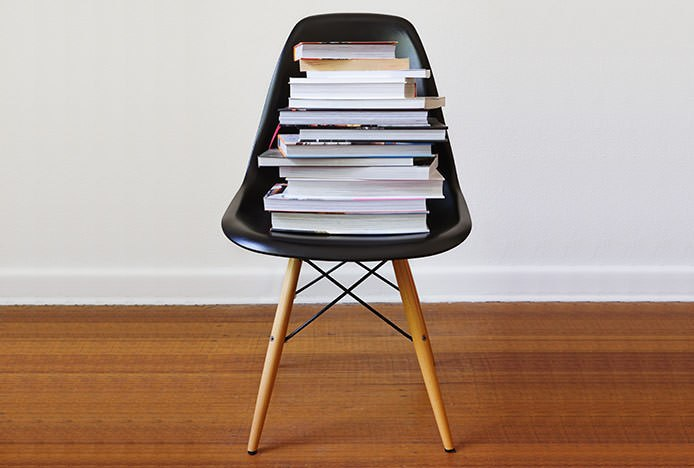 Chair With Books