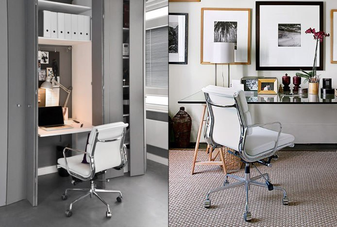 Eames Office Chairs in Home Offices