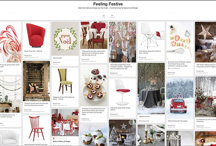 Feeling Festive Pinterest Board
