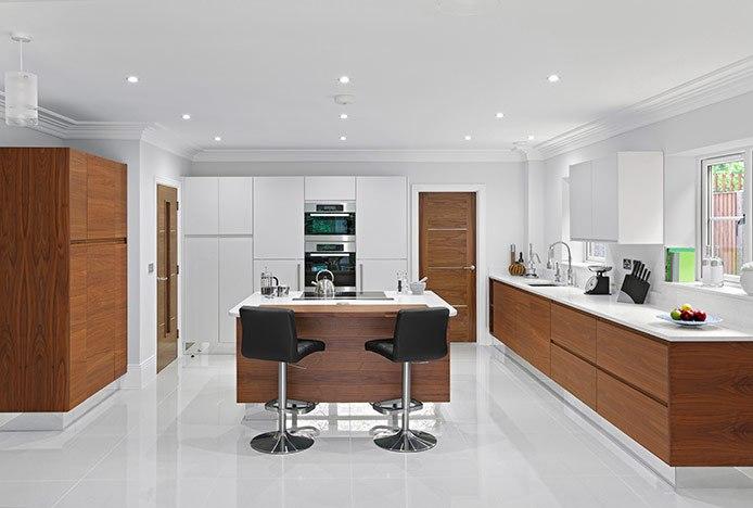 Decorated Modern Kitchen