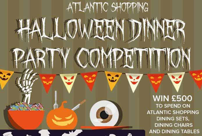Halloween Dinner Party Competition Banner