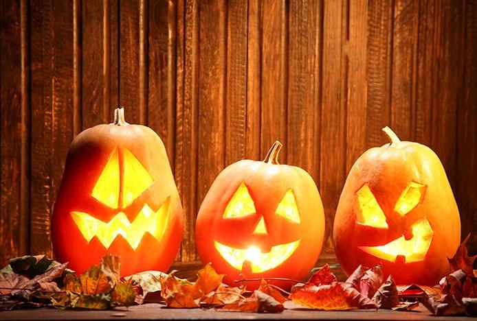 Spooky Halloween Pumpkins