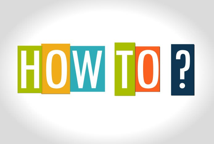 How To Illustration Image