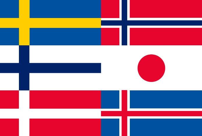 Japandi Flag