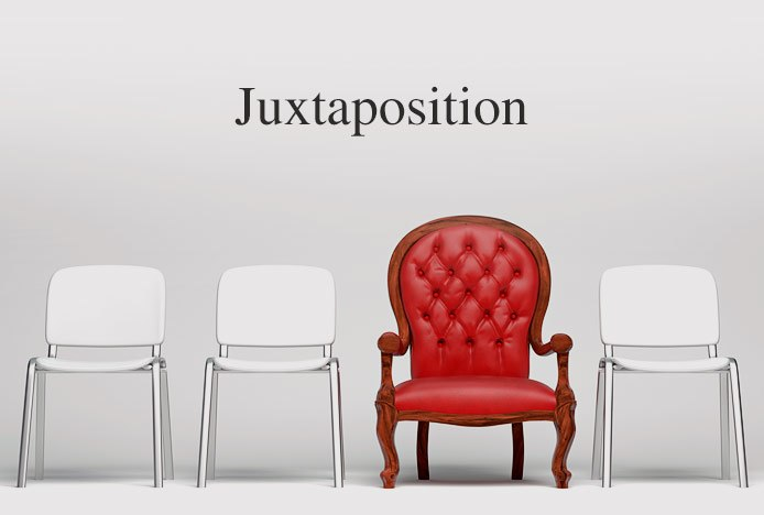 Juxtaposing Chair Designs