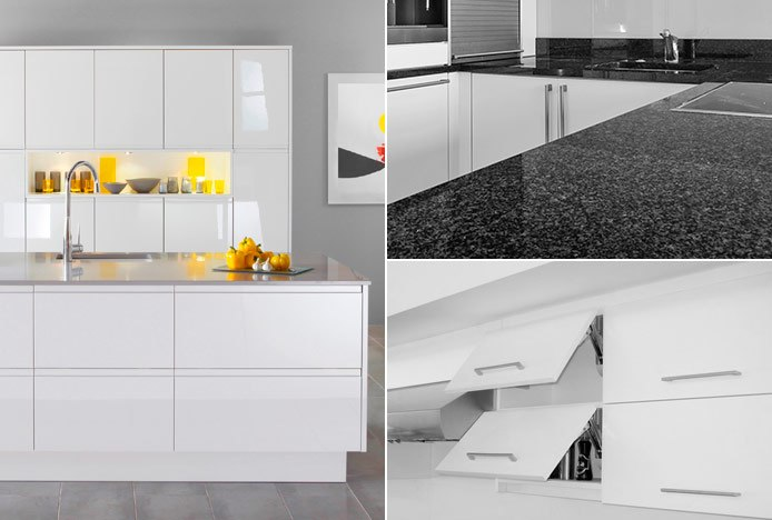 Kitchen Cabinets & Work Surfaces