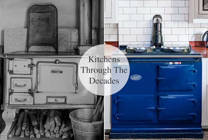 Kitchens Then And Now