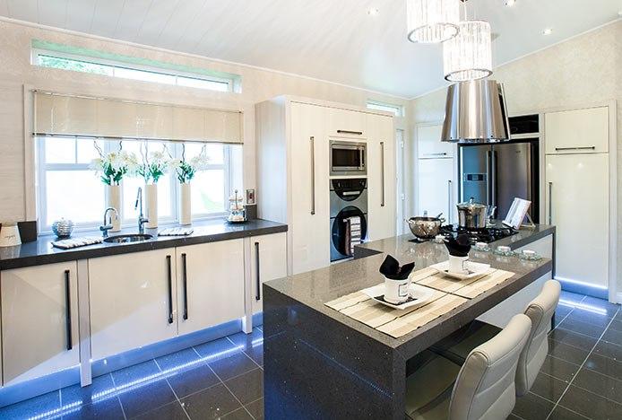 LED Lighting In Modern Kitchen