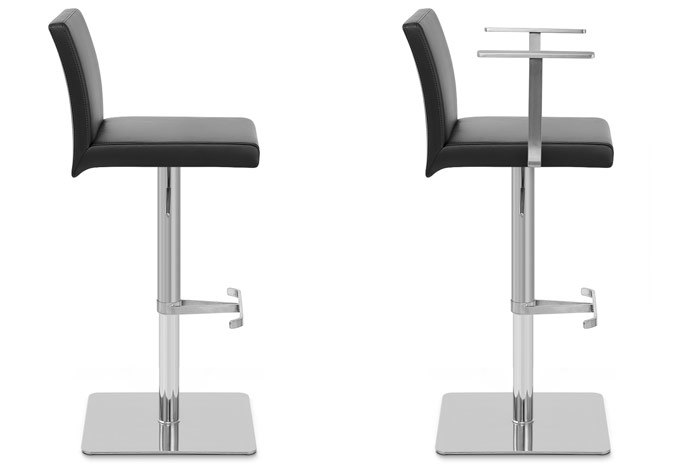 Lexi Bar Stool With and Without Arms
