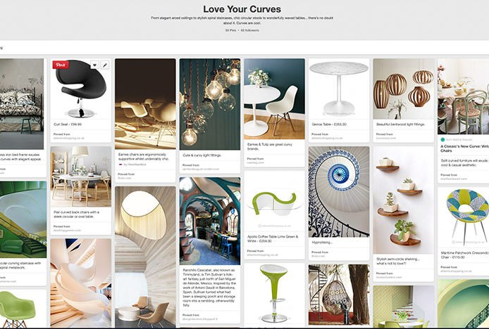 Love Your Curves Pinterest Board