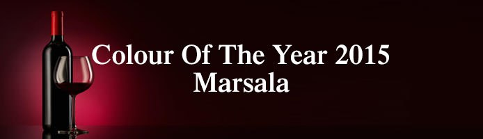 Colour Of The Year 2015 Marsala