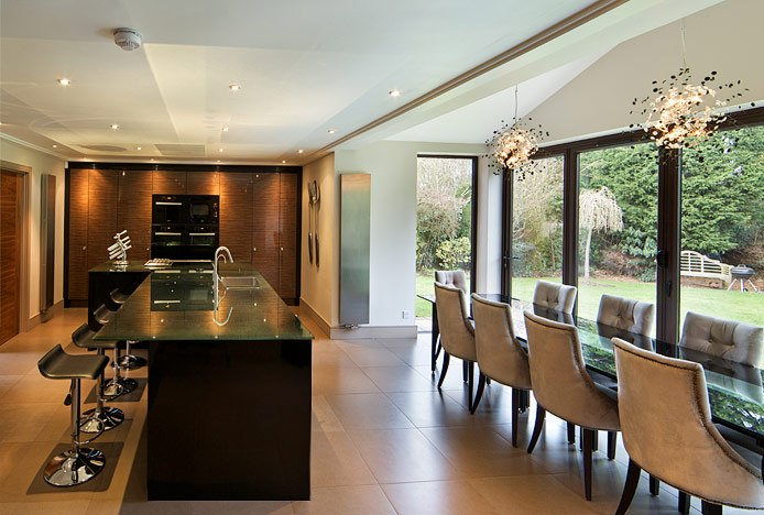 Light Sources With Different Colour Temperatures In Kitchen