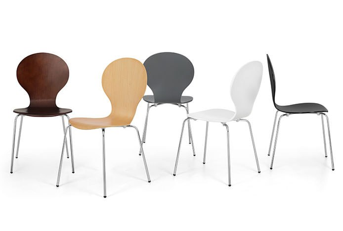Modern Candy Chairs in Neutral Colours