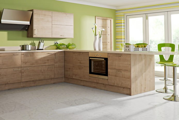 Kitchen With Natural Colours