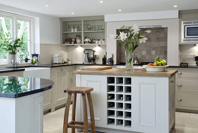Oslo Stools in Rustic Country Kitchen