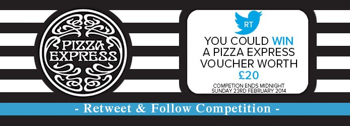 Pizza Express Gift Card Competition