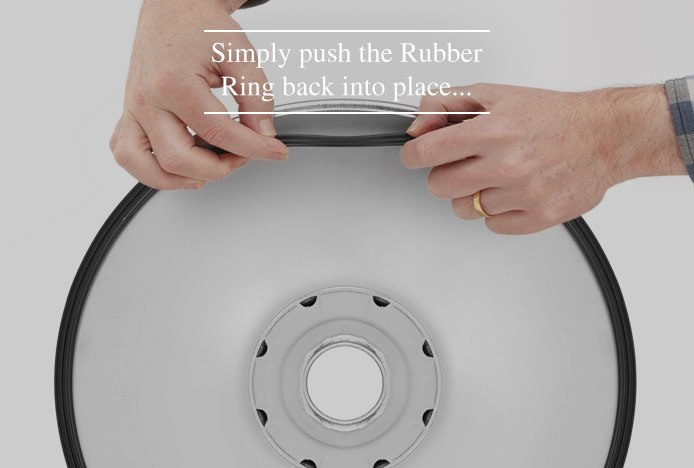 Reattaching The Rubber Ring On A Bar Stool