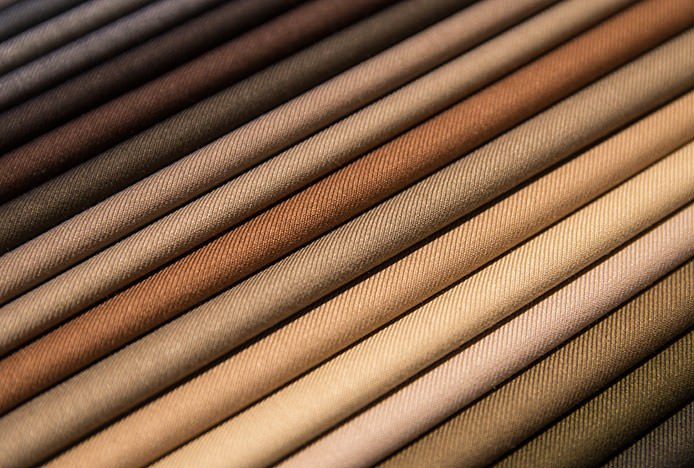 Shades of Brown Fabric
