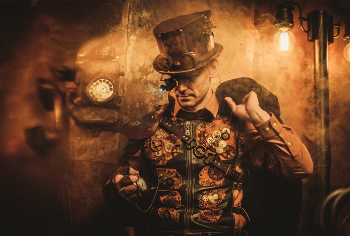 Steampunk Inspired Fashion And Decor