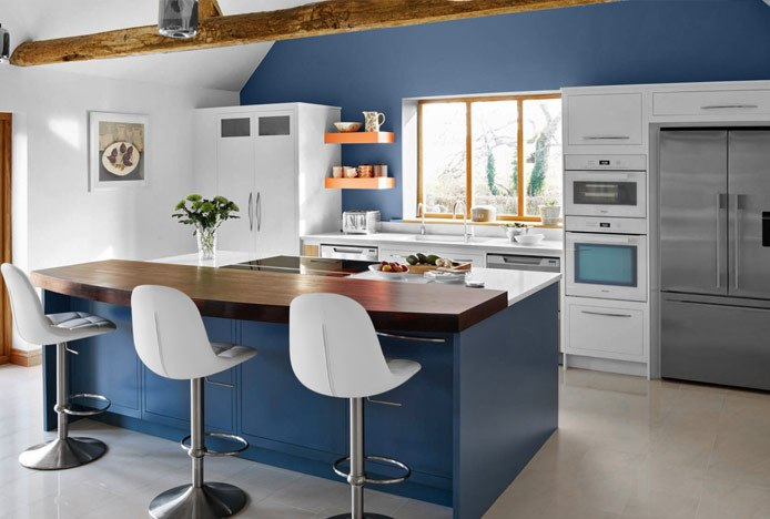 Kitchen With Various Textures