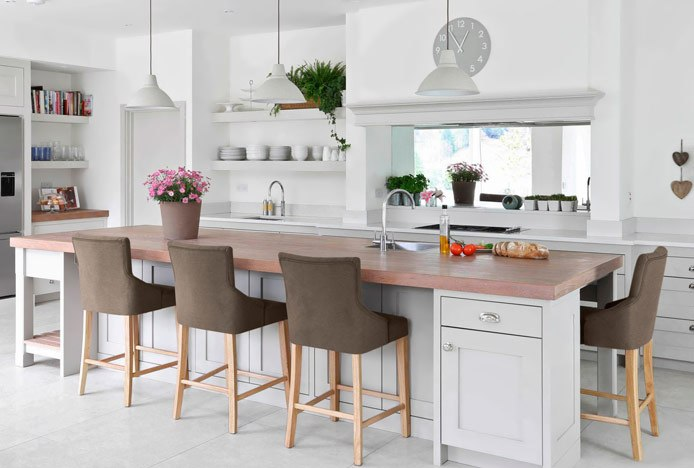 Sustainable Kitchen Design With Magna Bar Stool