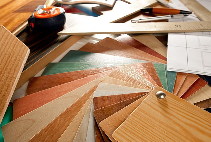 Swatches Of Wood