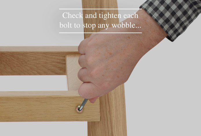 Tightening Screws On A Wooden Frame