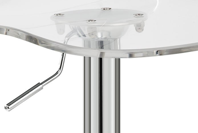 Transparent Bar Stool Plate