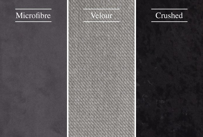 Different Types Of Velvet
