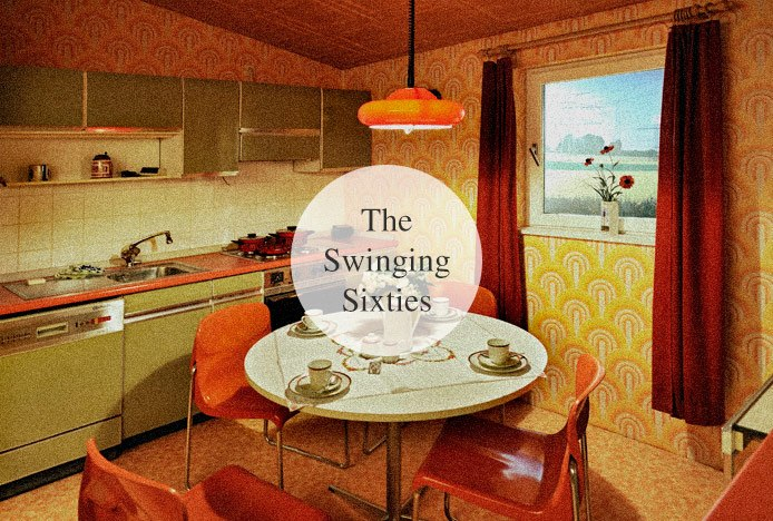 Typical Sixties Kitchen