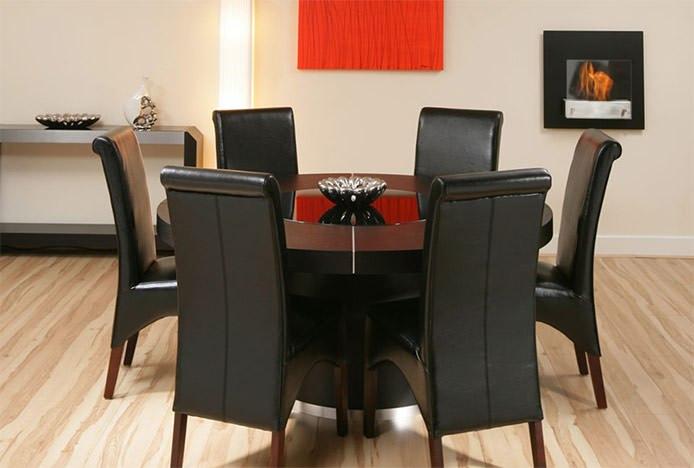 Artwork In Formal Dining Room